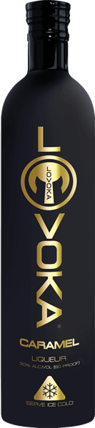 Lovoka Flavored Vodka Bottle